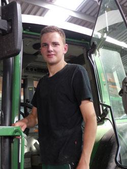 Theodor Fohne Ausbildung zum Landwirt