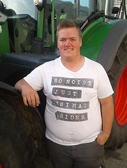 Nils Deede – Ausbildung zum Landwirt