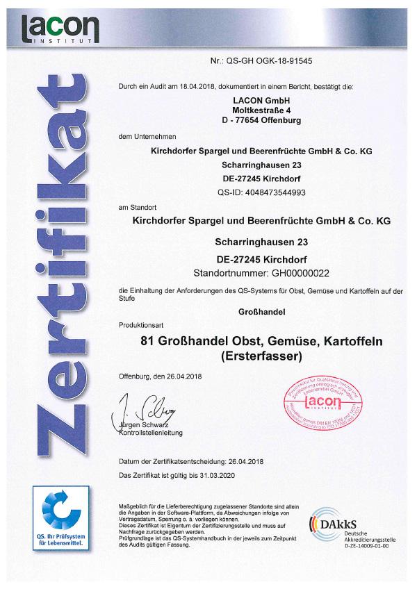 QS-Grosshandel_Zertifikat